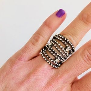 Gunmetal Bling Ring